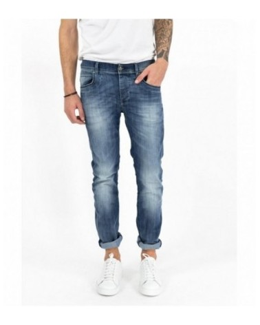 SHORTS IN JEANS CON STRAPPI FIFTY FOUR
