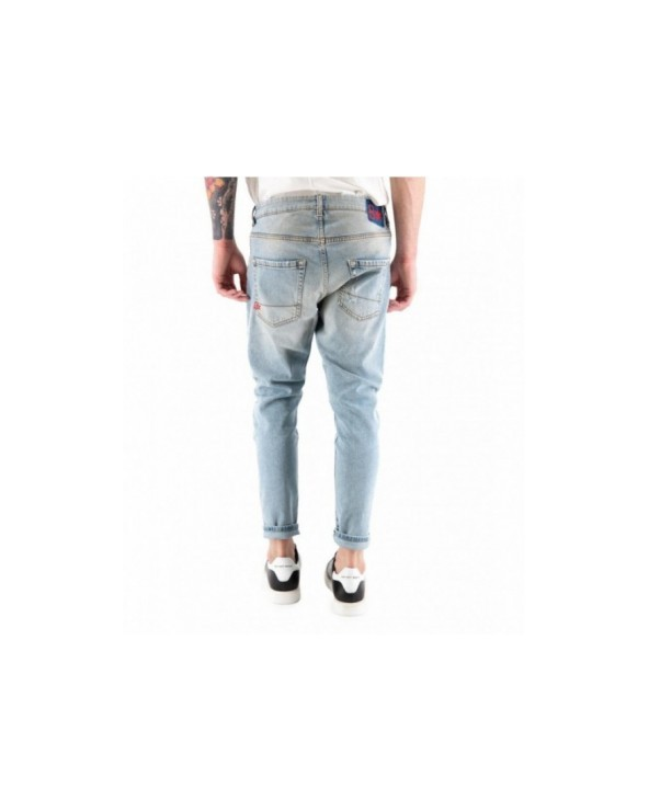 JEANS SKINNY VITA ALTA FIFTY FOUR