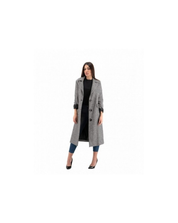CAPPOTTO IN PANNO CON TASCHE A TOPPA TWO-BI